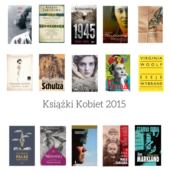 Książki Kobiet 2015