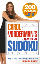 CAROL VORDERMAN'S HOW TO DO SUDOKU - Vorderman Carol