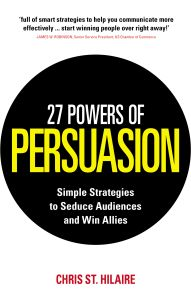 27 POWERS OF PERSUASION - St. Hilaire Chris