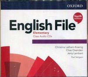 ENGLISH FILE ELEMENTARY CLASS AUDIO CDS