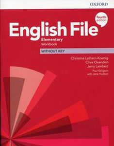 ENGLISH FILE ELEMENTARY WORKBOOK WITHOUT KEY
