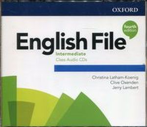 ENGLISH FILE INTERMEDITE CLASS AUDIO CDS