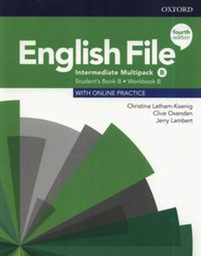 ENGLISH FILE 4E INTERMEDIATE MULTIPACK B +ONLINE PRACTICE