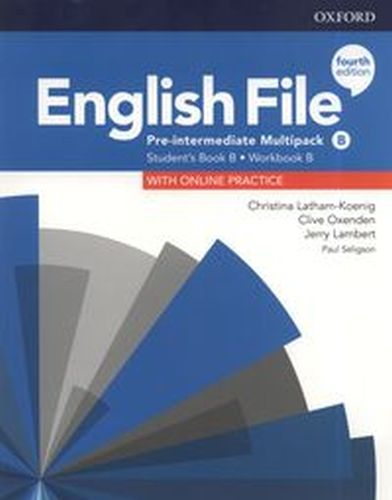 ENGLISH FILE 4E PRE-INTERMEDIATE MULTIPACK B +ONLINE PRACTICE - Jerry Lambert
