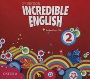 INCREDIBLE ENGLISH 2 CLASS AUDIO CD