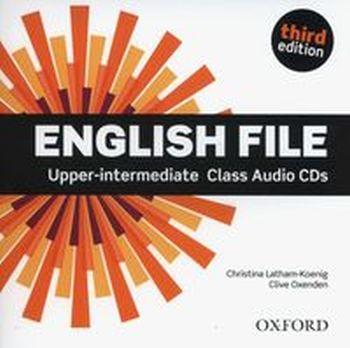 ENGLISH FILE UPPER-INTERMEDIATE CLASS AUDIO 5CD
