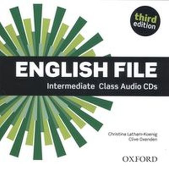 ENGLISH FILE INTERMEDIATE CIASS AUDIO CD - Clive Oxenden