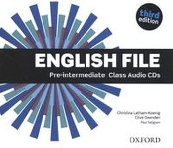 ENGLISH FILE PRE-INTERMEDIATE CLASS AUDIO CD - Clive Oxenden