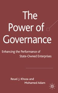 THE POWER OF GOVERNANCE -  Khoza