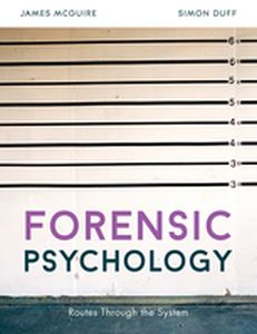 FORENSIC PSYCHOLOGY -  Mcguire