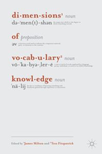 DIMENSIONS OF VOCABULARY KNOWLEDGE -  Milton