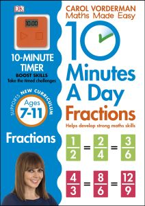 10 MINUTES A DAY FRACTIONS - Vorderman Carol