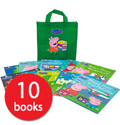 NEW PEPPA PIG COLLECTION - 10 BOOKS - COLLECTION