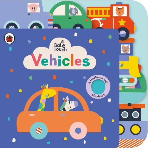 BABY TOUCH: VEHICLES TAB BOOK - Ribbon Studio Lemon