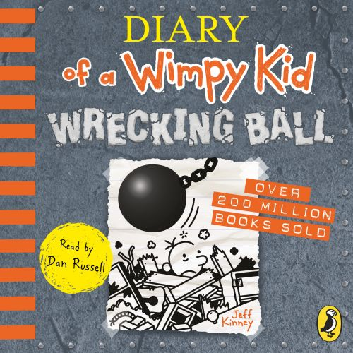DIARY OF A WIMPY KID: WRECKING BALL (BOOK 14) - Kinney Jeff