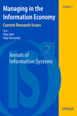 ANNALS OF INFORMATION SYSTEMS -  Apte