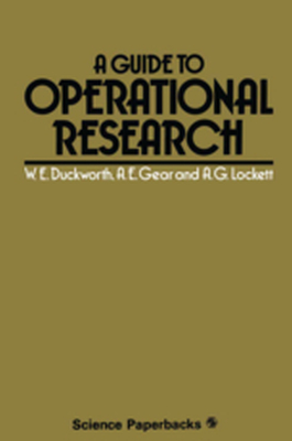 A GUIDE TO OPERATIONAL RESEARCH -  Duckworth