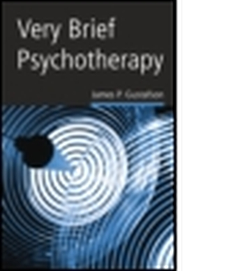 VERY BRIEF PSYCHOTHERAPY - P. Gustafson James