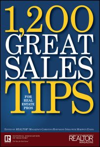 1,200 GREAT SALES TIPS FOR REAL ESTATE PROS - Hoffmann Spira Christina
