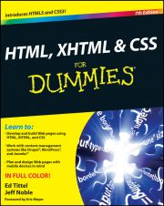 HTML, XHTML AND CSS FOR DUMMIES - Tittel Ed