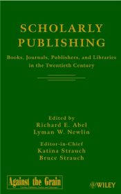 SCHOLARLY PUBLISHING - E. Abel Richard