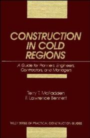 CONSTRUCTION IN COLD REGIONS - T. Mcfadden Terry