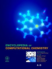 ENCYCLOPEDIA OF COMPUTATIONAL CHEMISTRY - Von Rague Schleyer Paul