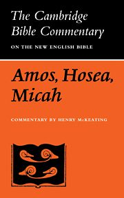 THE BOOKS OF AMOS HOSEA MICAH - Mckeating Henry
