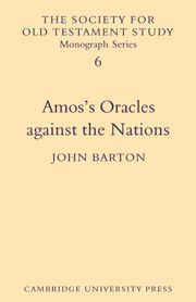 AMOSS ORACLES AGAINST THE NATIONS - Barton John
