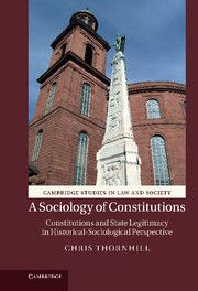 A SOCIOLOGY OF CONSTITUTIONS - Thornhill Chris
