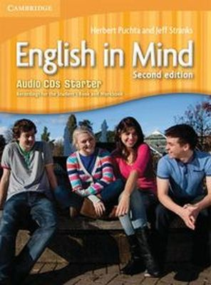 ENGLISH IN MIND STARTER AUDIO 3CD - Jeff Stranks