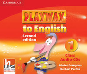 PLAYWAY TO ENGLISH 1 CLASS AUDIO 3CD - Herbert Puchta