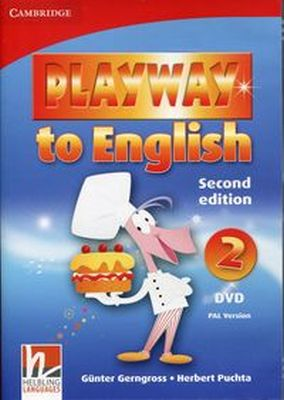 PLAYWAY TO ENGLISH 2 DVD PAL VERSION - Herbert Puchta