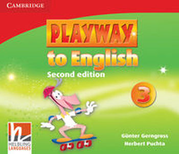 PLAYWAY TO ENGLISH 3 CLASS AUDIO 3CD - Herbert Puchta