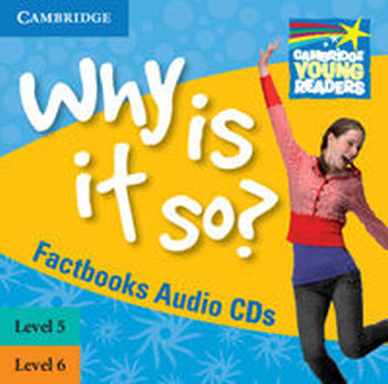WHY IS IT SO? 5-6 FACTBOOK AUDIO 2CD - Brenda Kent