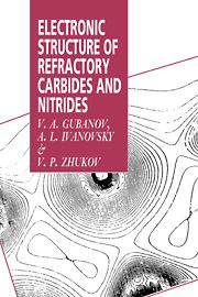 ELECTRONIC STRUCTURE OF REFRACTORY CARBIDES AND NITRIDES - A. Gubanov V.