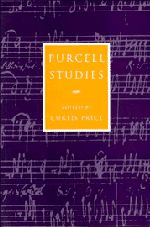 PURCELL STUDIES - Price Curtis