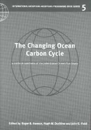 THE CHANGING OCEAN CARBON CYCLE - B. Hanson Roger