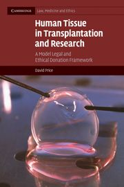 HUMAN TISSUE IN TRANSPLANTATION AND RESEARCH - Price David