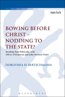 BOWING BEFORE CHRIST - NODDING TO THE STATE? - Keith Chris
