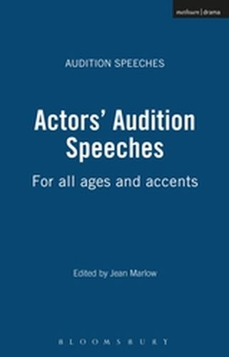 ACTORS' AUDITION SPEECHES - Marlow Jean