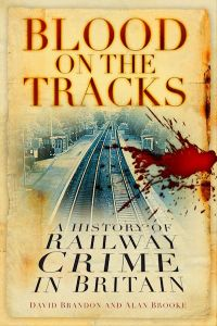 BLOOD ON THE TRACKS - Brandon David