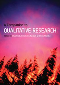 A COMPANION TO QUALITATIVE RESEARCH - Flick Uwe