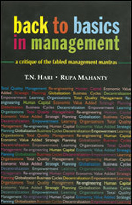 BACK TO BASICS IN MANAGEMENT - N Hari T