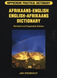 AFRIKAANS-ENGLISH / ENGLISH-AFRIKAANS PRACTICAL DICTIONARY - Kromhout Jan