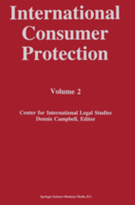 INTERNATIONAL CONSUMER PROTECTION - Dennis Campbell