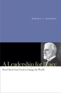 A LEADERSHIP FOR PEACE - I. Rotberg Robert