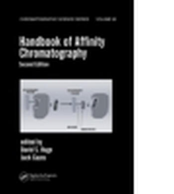 HANDBOOK OF AFFINITY CHROMATOGRAPHY - S. Hage David