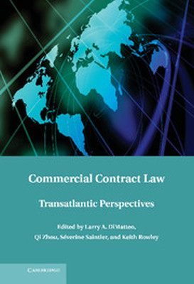 COMMERCIAL CONTRACT LAW - A. Dimatteo Larry