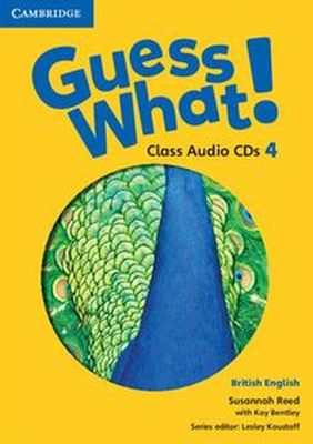 GUESS WHAT! 4 CLASS AUDIO 2CD - Kay Bentley